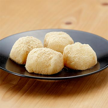手作り和菓子の写真